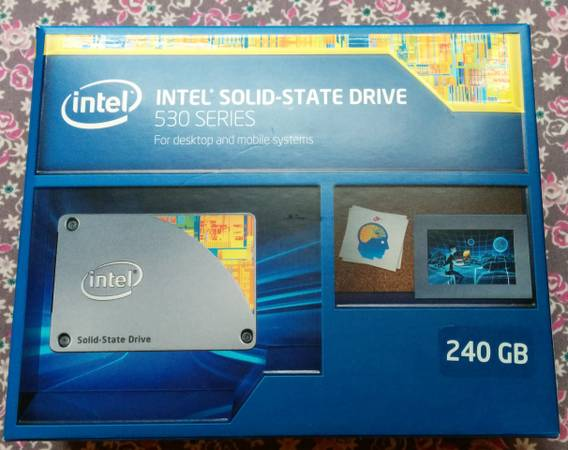New Intel 530 Series 240GB 2 5  Internal SSD for sale -   x0024 140  Bryan College Station