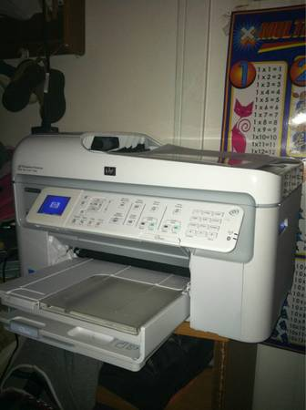 Hp PhotoSmart All In One (White) - $100 ((Bryan)Villa Maria Rd.)