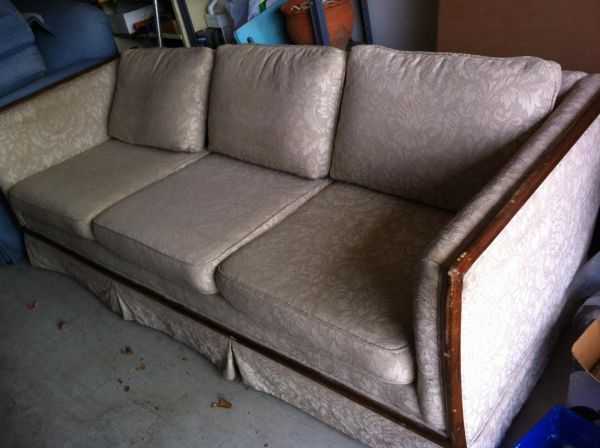 couch for sale shabby chic - $150