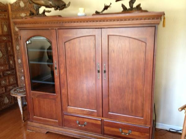 Broyhill Entertainment Center - $450 (College Station)