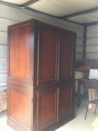 Pottery Barn Armoire TV Cabinet - $200