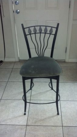 2 Pier 1 Barstools - $60 (144 Forest Drive College Station TX 7784)