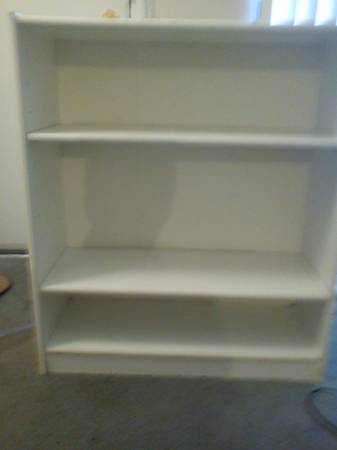 Walmart 3 Shelf Storage Shelves Cabinet Bookcase Bookshelf - $5 (Bryan College Station)
