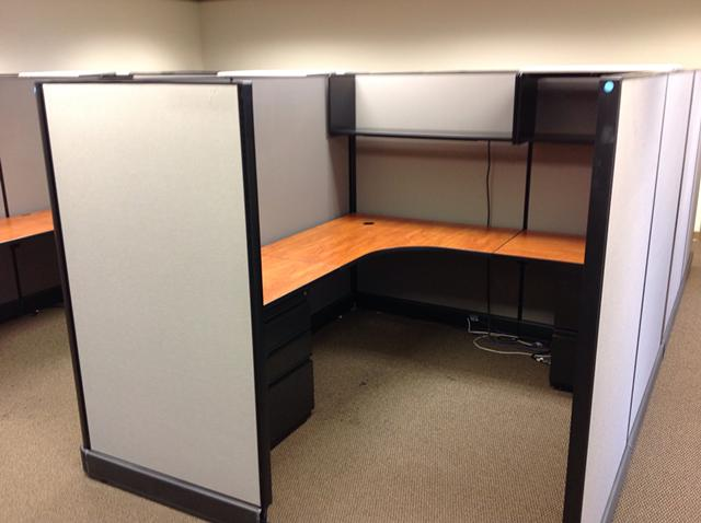 650 Herman Miller Office Cubicles Like New Furniture