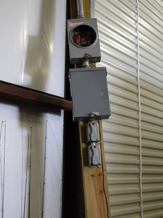 Temporary Power Pole - $150 (College Station Area)