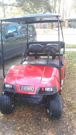 price reduced custom painted golf cart - $3250 (conroe)