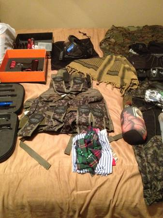 Big Paintball Lot - $111 (South College Station)