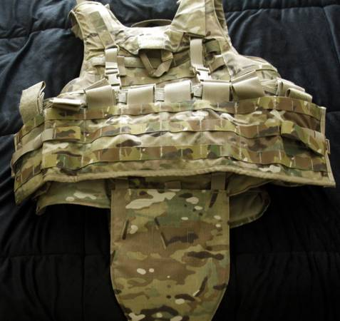 IOTV Multicam Ballistic Vest Improved Tactical Carrier Body Armor - $600 (College Station, TX)