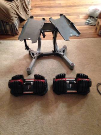 Bowflex SelectTech 552 Dumbbells and Stand - x0024400 (College Station)