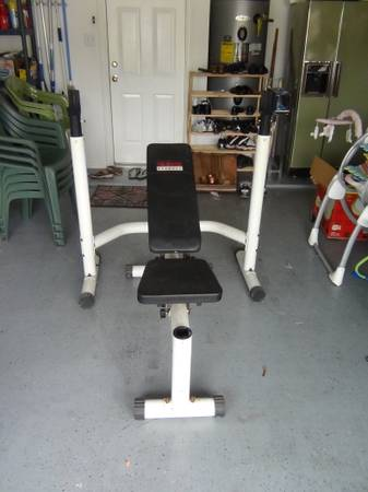 Weight Bench by EXERTEC - $65 (College Station)