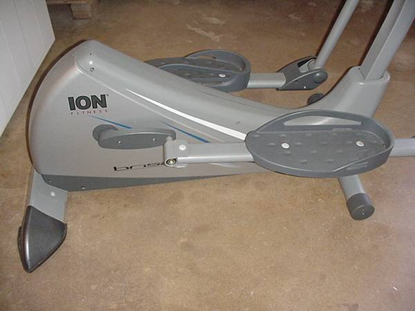 ION FITNESS Elliptical Machine   Folding Bike - $100 (Bryan,Tx.)