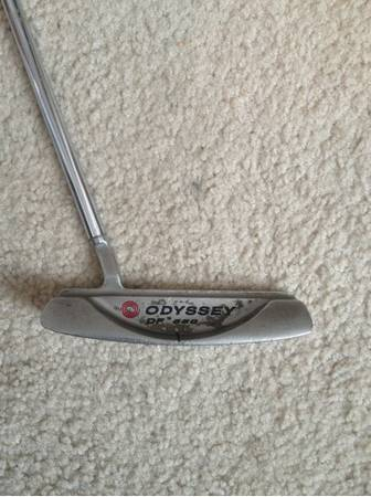 Odyssey dual force 550 putter - $40 (College station)