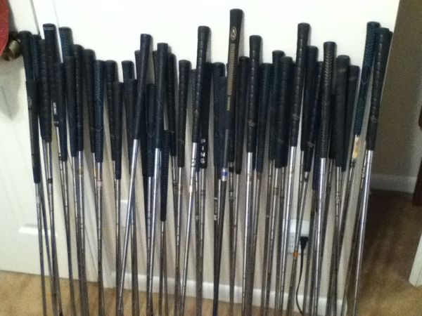 48 Golf Clubs - 5 bags more - $125 (Bryan College Station)