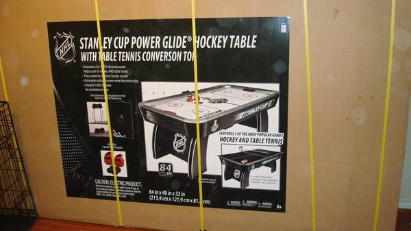 NHL Air Hockey Table - $375 (College Station)