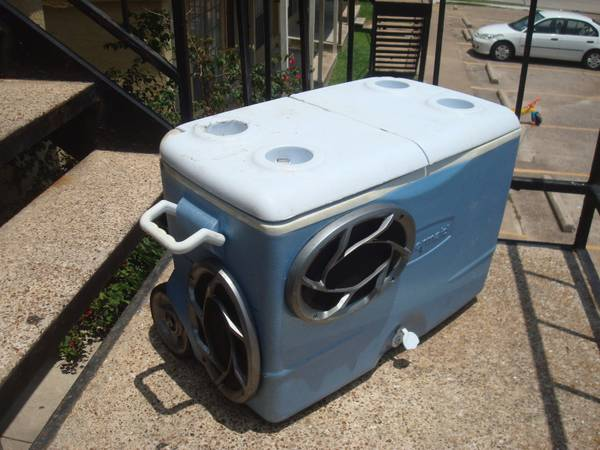 Stereo Cooler, Best of Both - $200 (College Station)