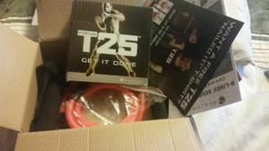 50  T25 workout DVDs complete set