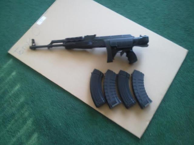 Half new AK 47 62 X 39mm for sale  text 234 300-2255