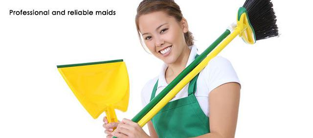 Hire a maid for cleaning services in Houston