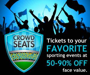 New $10 Crowdseats.com Gift Card - NFL MLB NBA Sports Tickets - $8 (College Station)