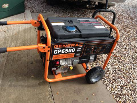 Generator 65008000 watt - $650 (College Station)