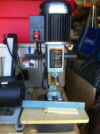 Delta Model 14-650 Type 2 - Hollow Chisel Mortiser - $175 (College Station, TX)