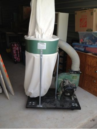 Dust collector - $125 (BCS)