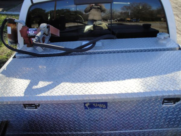 105 Gallon Fuel Tank and Tool Box with Electric Pump - $1000
