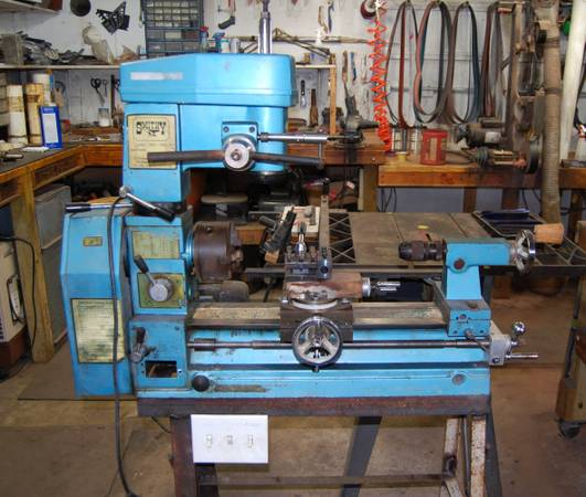 Smithy 3 in 1 Lathe Mill Drill - $450 (Brazos County)