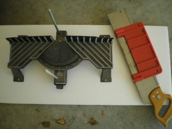 Craftsman Miter Box, Drill Press Stand, Snow Chains - $15 (College Station)