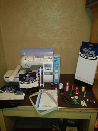 Brother PE-770 embroidery machine - $700 (Caldwell)