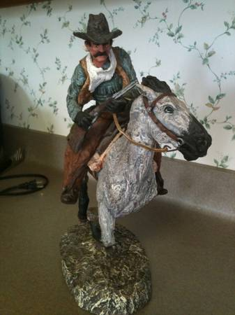 BOUNTY HUNTER SCULPTURE by DANIEL MONFORT  - $190 (Bryan)