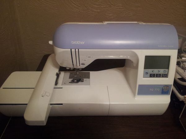 Brother PE-770 embroidery machine - $700 (Caldwell )
