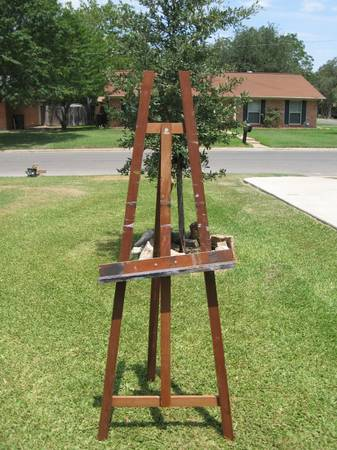 Grumbacher Easel - $25 (bryan college station)