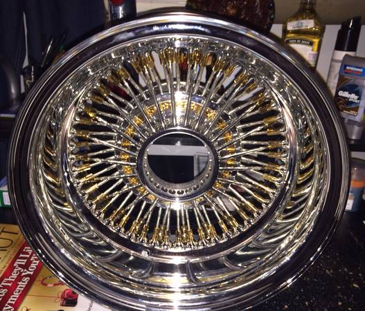 Lowrider wire wheels Zeniths 13x7 72 spokes (Brayn)