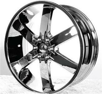 Discount Wheel Supply 24 Inch U2-55 Chrome Rims - $1100 (College StationBryan)
