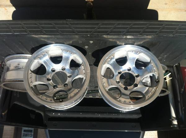 6 Lug Chevy Wheels(15x8) - $150 (College Station)