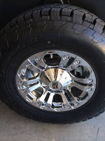 TRADE NEW NITTO TERRA GRAPPLER 2957018 (35)XD MONSTER DODGE RIMS - x00241600 (San antonio)