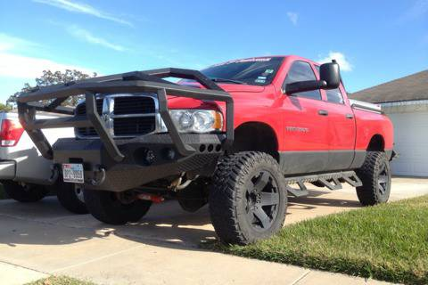 Dodge front bumper trade - $4500 (College station)