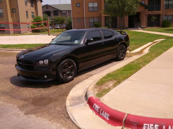 dodge charger black 17 oem rims with tires - $425 (college station)