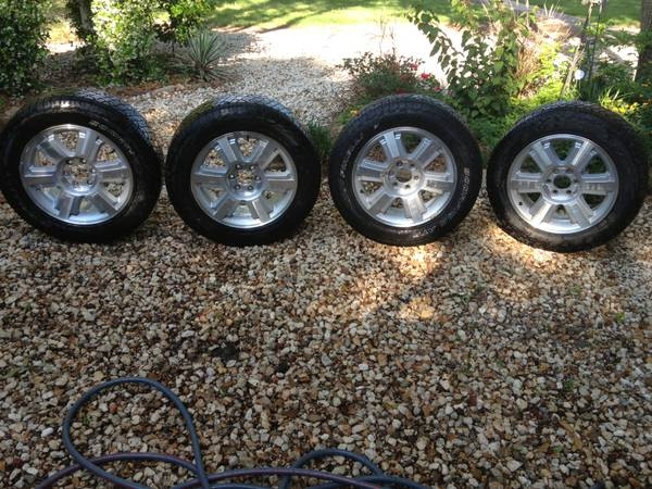 2004-2013 Ford F150 FX4 Tires 20 Factory OEM Wheels Rims - $700 (College Station)