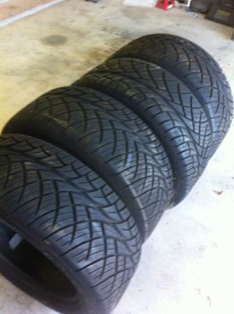4 Nitto 420S 30550R20 Tires - $650 (college station )