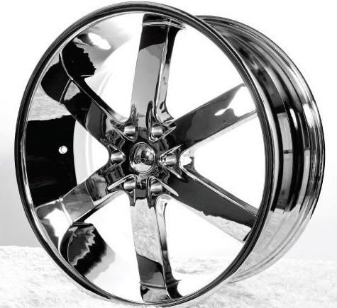 BRAND NEW 24 Inch U2-55 Chrome Rims Still in original packaging - $1100 (College Station)