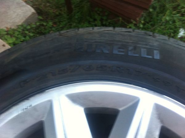 (OEM)Chrysler 300 Factory Tires With Rims - $200 (Bryan)