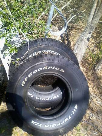 31x10.5x15 tires - $300 (south cs)