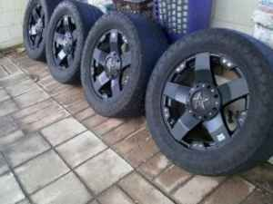 rockstar rims 20 inch with nitto terra grappler tires - $900 (College Station)