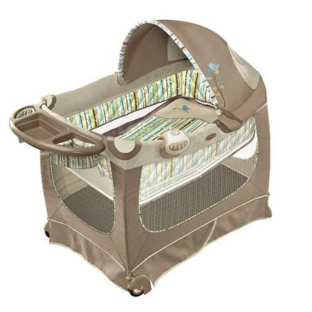 Boppy Happy Place Playard - $40 (Bryan)