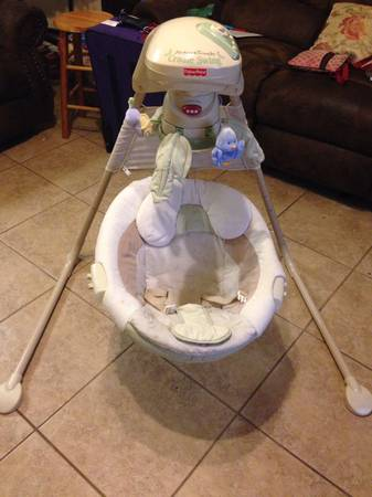 Fisher Price Swing - $60 (College Station)