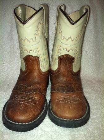 Cowboy Boots Toddler Boy size 6.5 - $25 (College Station)