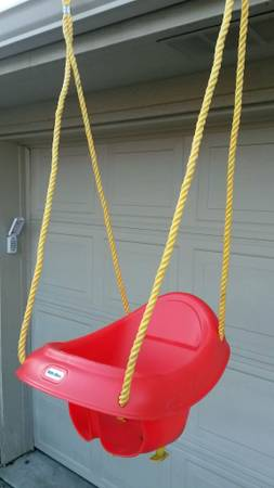 Little Tikes Outdoor Baby Swing - x002415 (College Station)