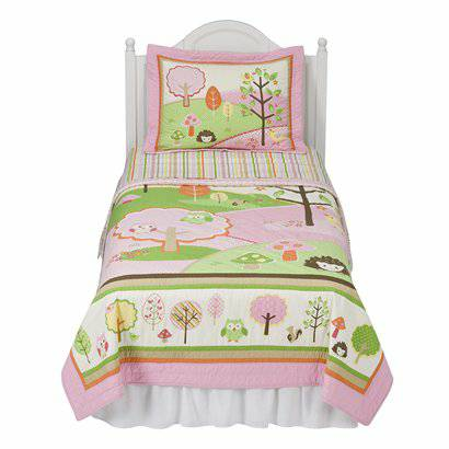 Girls Circo Love and Nature Full Size Bed Set - $40 (College Station)